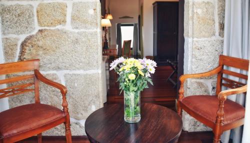 Habitación Doble Superior con terraza Hotel Quinta de San Amaro 7