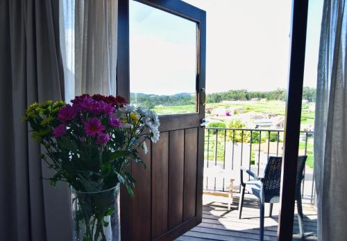 Habitación Doble Superior con terraza - Uso individual Hotel Quinta de San Amaro 4