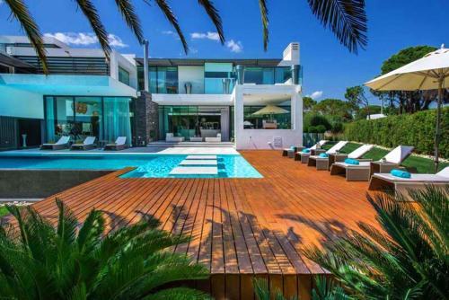 Quinta Do Lago Villa Sleeps 8 Pool Air Con T480172