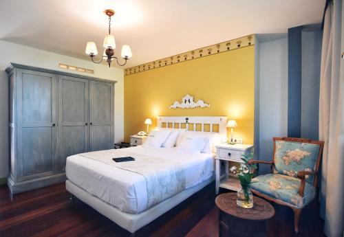 Habitación Doble Superior Hotel Quinta de San Amaro 3
