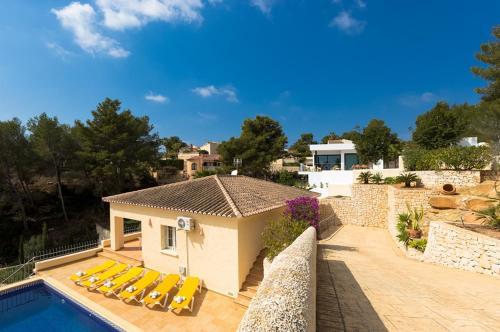 Villa Estefania rum bilder