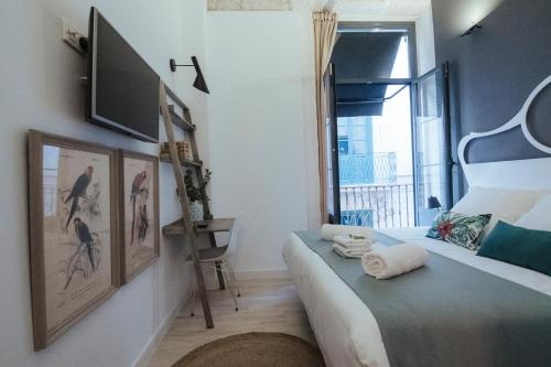 Habitación Doble Hotel Boutique Alicante Palacete S.XVII Adults Only 3