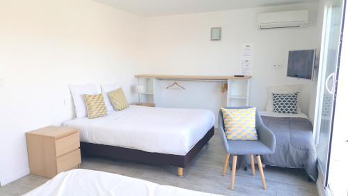 hotel sable et soleil port et plage fr jus prezzi. Black Bedroom Furniture Sets. Home Design Ideas