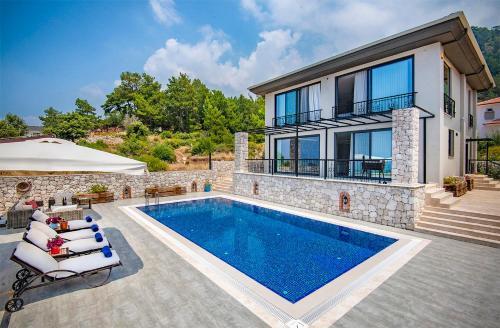 Kızılcakaya Uzunyurt Villa Sleeps 4 odalar