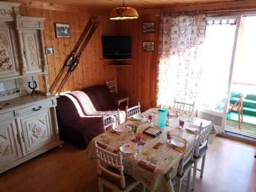 Les Marmottes 1 - Appartement 3 pièces 8 personnes - plein sud - vue montagne Orcieres Merlettes