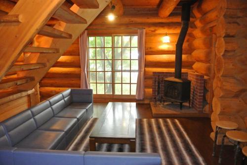 White Tree Log House Madarao Tangram