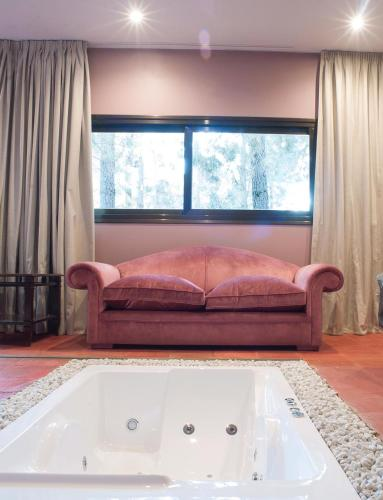 Habitación Doble Deluxe con bañera Hotel Boutique Pinar 9