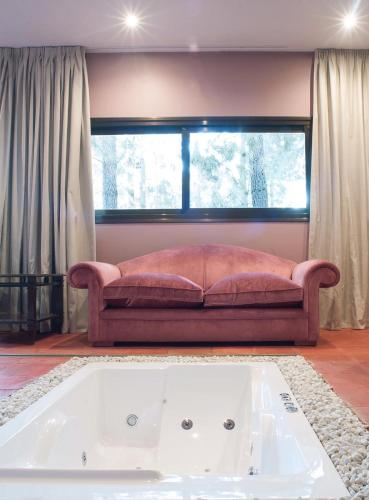 Habitación Doble Deluxe con bañera Hotel Boutique Pinar 6