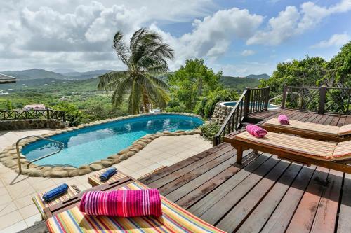 Cap Estate Villa Sleeps 8 Pool Air Con Wifi
