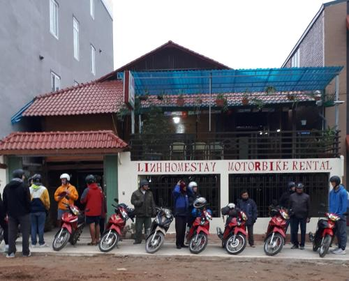 Linh Homestay and motorbikes rent