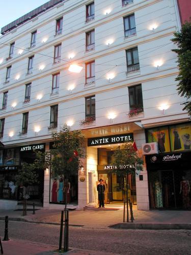 Istanbul Antik Hotel Istanbul address