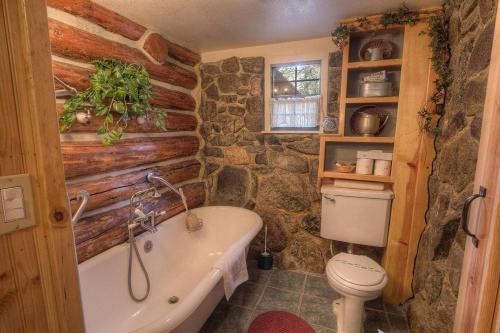 Peace In Authentic Log Cabin - Stateline, NV 89413