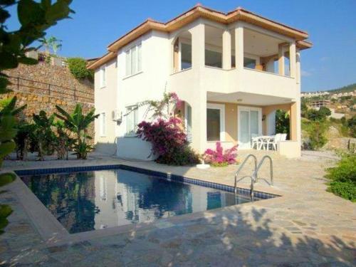 Kargicak Villa Felix with Private Pool and Sea View yol tarifi