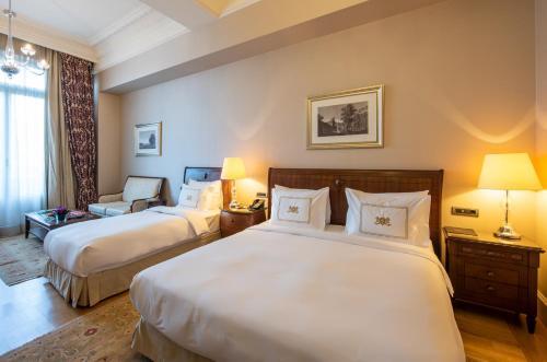 Pera Palace Hotel istabas fotogrāfijas
