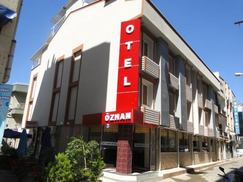Antalya Özhan Hotel harita