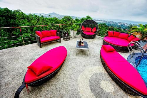 4 Bedroom Seaview 1 Chaweng Noi