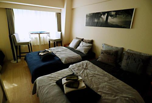 Shin Osaka 1 min Shinsaibashi 13min Kyoto 25min FREE WIFI