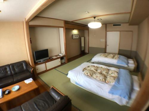 網走湖天都之鄉本陣酒店 Tento No Sato Hotel Honjin Abashiriko