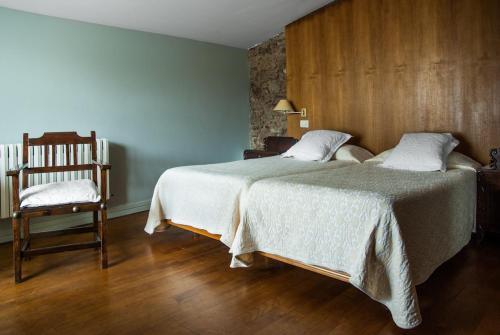Habitación Doble - 1 o 2 camas Pazo Cibrán 38