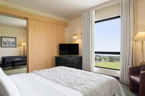 Executive One-Bedroom King Suite with Polo View