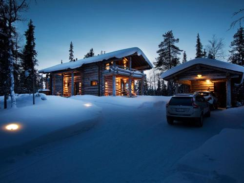 Holiday Home Ruka ski chalet finland