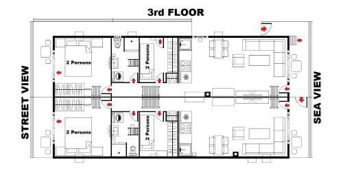 D&D Apartments salas fotos