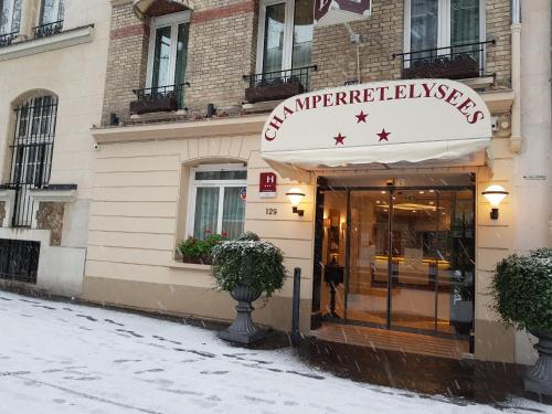Hotel Champerret Elysees impression