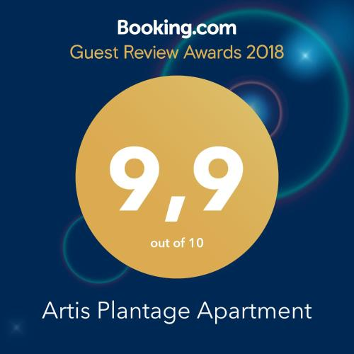 A Hotel Com Artis Plantage Apartment Bed And Breakfast