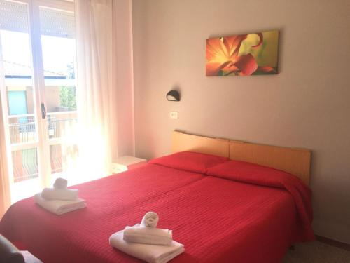 Hotel Ausonia 房间的照片