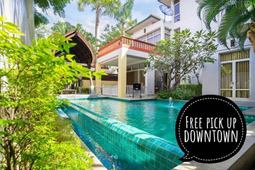 AnB Pool Villa in Pattaya SALA