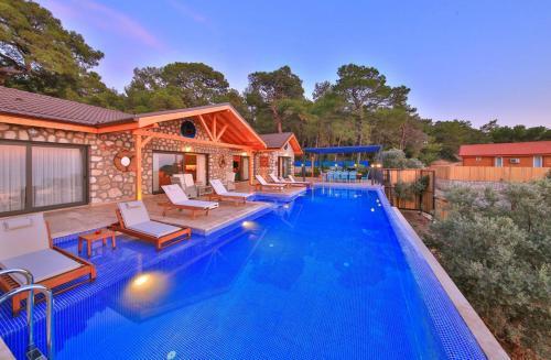 Patara Villa Likya Havuzu Korunaklı Villa tek gece fiyat