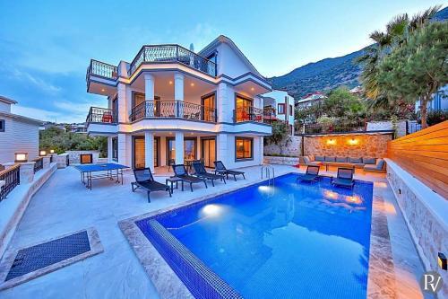 Kalkan Kalkan Villa Sleeps 6 Pool Air Con WiFi ulaşım