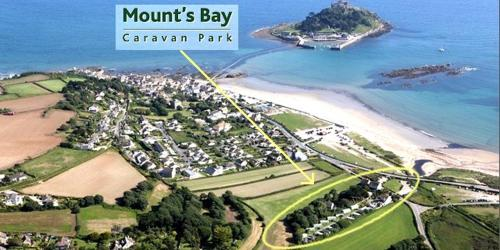 Mounts Bay Caravan Park, Marazion, Cornwall