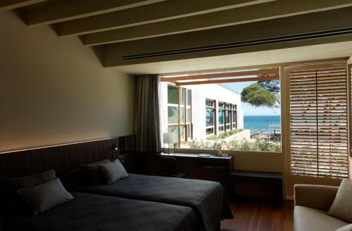 Habitación Doble Superior con vistas al mar Hostal Spa Empúries 10