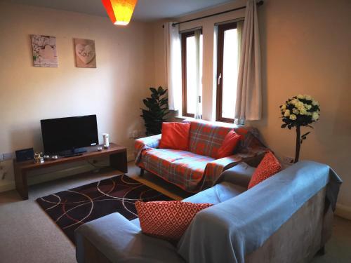 Spacious modern 2 bed Apt in Belfast city center