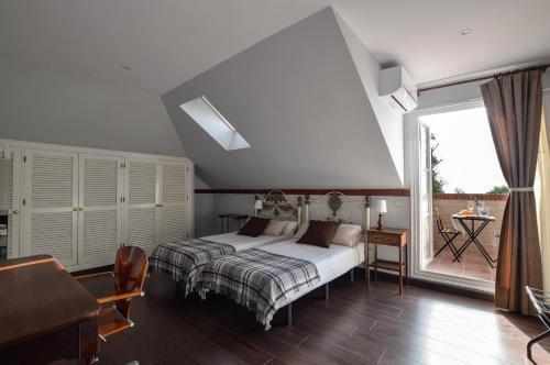 Doppel-/Zweibettzimmer mit Meerblick - Einzelnutzung Villa Antumalal B&B 4