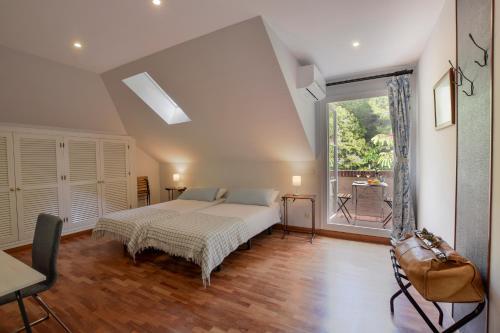 Doppel-/Zweibettzimmer mit Gartenblick - Einzelnutzung Villa Antumalal B&B 7
