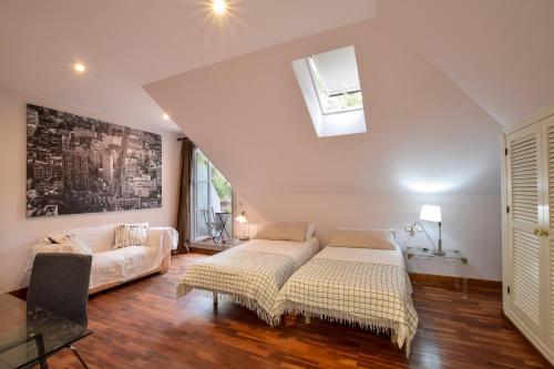 Doppel-/Zweibettzimmer mit Gartenblick - Einzelnutzung Villa Antumalal B&B 5