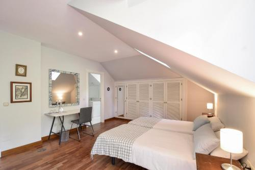 Doppel-/Zweibettzimmer mit Gartenblick - Einzelnutzung Villa Antumalal B&B 3