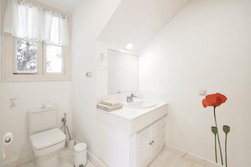 Doppel-/Zweibettzimmer mit Meerblick - Einzelnutzung Villa Antumalal B&B 5
