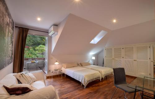 Doppel-/Zweibettzimmer mit Gartenblick - Einzelnutzung Villa Antumalal B&B 6