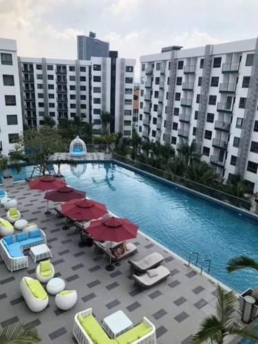 泰享趣,品牌民宿Pattaya Arcadia Beach Resort Pool View阿卡迪亚海滩度假村 泳池景观 泰享趣,品牌民宿Pattaya Arcadia Beach Resort Pool View阿卡迪亚海滩度假村 泳池景观
