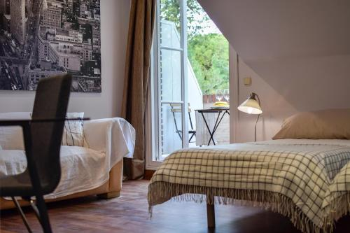 Doppel-/Zweibettzimmer mit Gartenblick - Einzelnutzung Villa Antumalal B&B 4