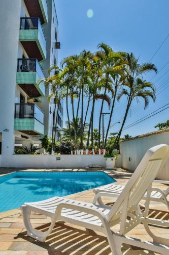 . Orange Beach Enseada Guarujá - Piscina, Ar, Wi-Fi, 3 Quartos a Poucos Passos do Mar