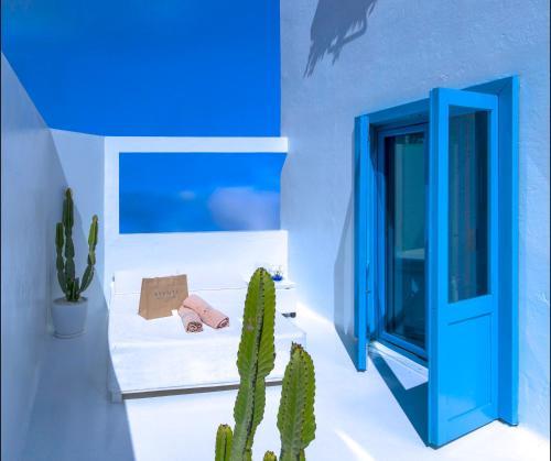 Doppelzimmer mit seitlichem Meerblick und Terrasse  AVANTI Lifestyle Hotel - Only Adults 38