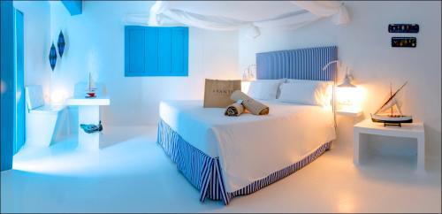 Doppelzimmer mit seitlichem Meerblick und Terrasse  AVANTI Lifestyle Hotel - Only Adults 41