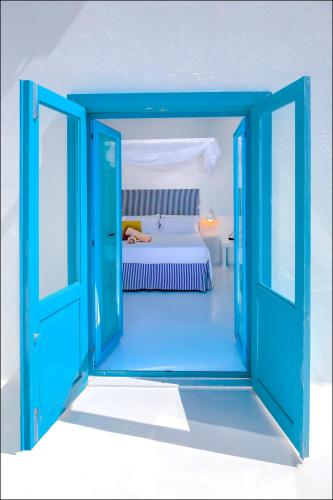 Doppelzimmer mit seitlichem Meerblick und Terrasse  AVANTI Lifestyle Hotel - Only Adults 32