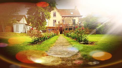 Appartement 8 pers, dans jolie maison briarde, à 20 mn de Disneyland Paris