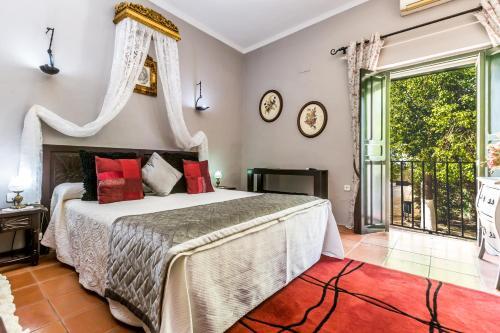 Habitación Doble con vistas - 1 o 2 camas   B&B Hacienda el Santiscal 26