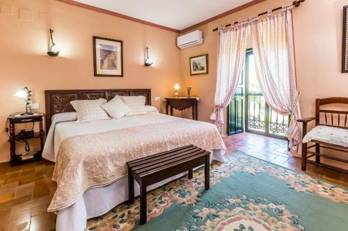 Habitación Doble con vistas - 1 o 2 camas   B&B Hacienda el Santiscal 32